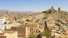 Al Mudayrib ruins in Oman. (Nicolaas Traut/Getty Images/Hemera)