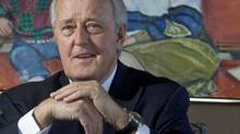 Former prime minister Brian Mulroney is shown in his Montreal office on Jan. 20, 2011. (Christinne Muschi for The Globe and Mail)