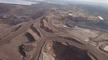 The Wabush mine is shown in a Sept.6, 2012 file photo. (HO-Newfoundland and Labrador Department of Natural Resources/THE CANADIAN PRESS)