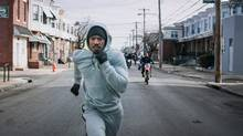 Sylvester Stallone's nomination for Creed is probably sentimental recognition for lifetime achievement, not a racist oversight of his co-star Michael B. Jordan. (Courtesy of Warner Bros. Picture)