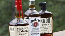 The red wax seal on Maker's Mark bourbon is a strong trademark that can be protected, a U.S. court has ruled. (RICK WILKING/RICK WILKING/REUTERS)