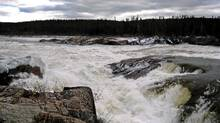 Muskrat Falls on the Churchill River in central Labrador is the site of the proposed Lower Churchill Hydro Project. Former U.S. ambassador to Canada David Wilkins said the U.S. should be looking to Canada for as much energy supply as possible. (GREG LOCKE/REUTERS)