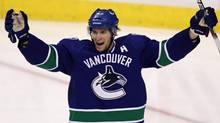 Vancouver Canucks' Ryan Kesler. THE CANADIAN PRESS/Darryl Dyck (DARRYL DYCK)