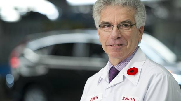 honda canada ceo jerry chenkin to retire in april   the globe and mail