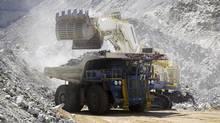 Uranium mining. (Anthony B. Bannister/Anthony B. Bannister)