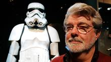 George Lucas and the Imperial Stormtrooper uniform (Winslow Townson)