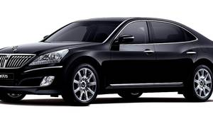 The Hyundai Equus went on sale in South Korea early this year.