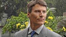 Vancouver Mayor Gregor Robertson visits the tomb of the Canadian doctor Norman Bethune at the Huabei Martyrs' Cemetery, in Shijiazhuang, China. (Globe files/Globe files)