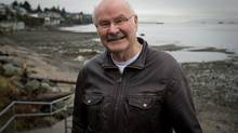 Former British Columbia premier Mike Harcourt poses for a photograph in Vancouver, B.C., on Tuesday March 12, 2013. (DARRYL DYCK For The Globe and Mail)