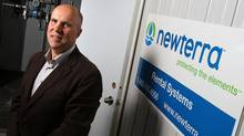 Bruce Lounsbury, Newterra CEO, says modular approach is key to water filtration and sewage treatment company's success. (Lars Hagberg For the Globe and Mail)