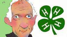 Singer-songwriter-raconteur Murray McLauchlan on 4-H clubs (Anthony Jenkins/The Globe and Mail)