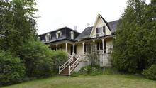 The summer home in St Patrick, Quebec where Sir John A. MacDonald, Canada's first prime minister, summer between 1873 and 1890. (Fred Lum/The Globe and Mail)