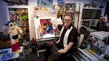 Canadian Comic Book Hall of Famer Ken Steacy co-founded Camosun College's Comics and Graphic Novels certificate program. (Raymond St Arnaud)