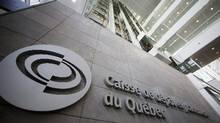 The Caisse de dépôt et placement du Québec building in Montreal. (Christinne Muschi/Reuters)