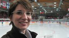 Tanya Foley is pictured on Saturday April 16, 2011, at the Deutweg Ice Hall in Winterthur, Switzerland. The International Ice Hockey Federation wants Foley to grow women's hockey on a much larger scale. THE CANADIAN PRESS/ Donna Spencer (Donna Spencer/CP)
