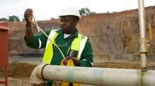Anvil's Kinsevere copper mine in the Democratic Republic of Congo. (Handout/Handout)