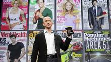 Jeff Bezos, chairman and CEO of Amazon.com, introduces the Kindle Fire in September. Ian Shaffer, president and CEO of Montreal's Galliant Capital Management, is confident in the company's ability to stay ahead of trends. (Mark Lennihan/Associated Press)