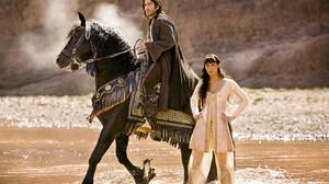 Gemma Arterton, right, and Jake Gyllenhaal star in Prince of Persia: The Sands of Time.