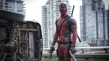 The current feature film Deadpool, a box-office hit, was filmed in Metro Vancouver over 58 days. The city has noted the production hired 2,000 local cast and crew. (Joe Lederer/Twentieth Century Fox via AP)