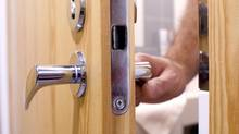 <137>Swinging door with lever. Thinkstock<137><137><252><137> (Alexander Ignatiev/Thinkstock)
