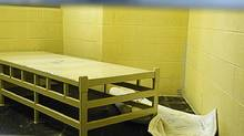The inside of the prison where Ashley Smith was held, in Kitchener, Ont. is shown on Oct. 19, 2007 in an court exibit photo released by the court on Monday Jan. 21, 2013. (D-Cst. D. Buckley/THE CANADIAN PRESS)