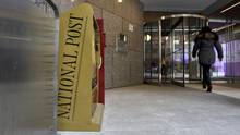 National Post offices at in Toronto. (Fred Lum/The Globe and Mail)