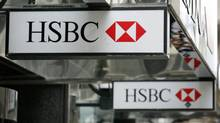 An HSBC bank branch in the financial district of Toronto, Canada on Tuesday, July 17, 2007. (Ryan Carter/The Globe and Mail)
