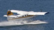 A float plane takes off in Vancouver, B.C., on Monday September 29, 2008. (Darryl Dyck For The Globe and Mail/Darryl Dyck For The Globe and Mail)