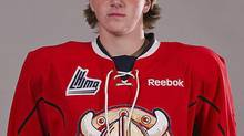 Acadie-Bathurst Titan's Jordan Boyd is shown in a 2013 training camp portrait released by the QMJHL on Monday Aug. 12, 2013. The 16-year-old died Monday in Bathurst, N.B. after he collapsed during tryouts