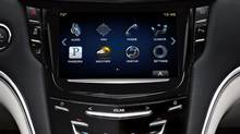 CUE, GM's in-car infotainment system. (General Motors)