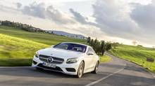 Mercedes-Benz S-Class coupe. (Mercedes-Benz)