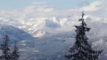 Whistler ski resort in British Columbia. (JONATHAN HAYWARD/THE CANADIAN PRESS)