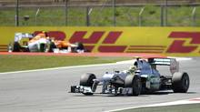 Formula One's total revenue was $1.5-billion last year; its earnings have been growing at a compound annual rate of over 9 per cent since 2003 (FELIX ORDONEZ/FELIX ORDONEZ/REUTERS)