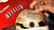 Netflix airs its TV shows and movies over an Internet connection to computers, Web-connected TV sets and gaming consoles. (AMY SANCETTA)