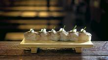 Oshi Zushi at Guu SakaBar (Kevin Van Paassen/The Globe and Mail/Kevin Van Paassen/The Globe and Mail)