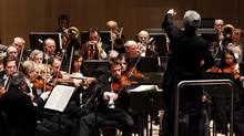"""The Toronto Symphony Orchestra begins their 2010 season at Roy Thomson Hall on Sept. 23, 2010, with an opening-night performance of Mahler Symphony No. 2 """"Resurrection"""". (Della Rollins/The Globe and Mail)"""