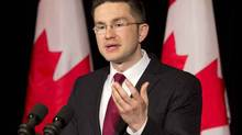 Minister of State for Democratic Reform Pierre Poilievre (ADRIAN WYLD/THE CANADIAN PRESS)