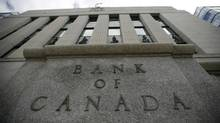 The Bank of Canada has a target to keep inflation in a band of 1 per cent to 3 per cent per year, as measured by the consumer price index. (CHRIS WATTIE/REUTERS)