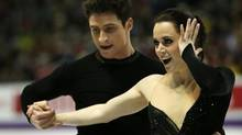 Canada's Tessa Virtue and Scott Moir compete in the ice dance free skate at the ISU World Figure Skating Championships 2013 in London, Ont. Saturday, March 16, 2013. (Kevin Van Paassen/The Globe and Mail)