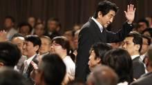 Japan's Prime Minister Shinzo Abe aims to revitalize the world's third-biggest economy. (Toru Hanai/Reuters)