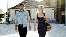 Ethan Hawke and Julie Delpy in a scene from Before Midnight. (THE CANADIAN PRESS)