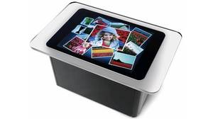Microsoft's touch-screen table computer, Surface.