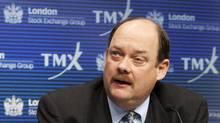 TMX Group CEO Tom Kloet. (MARK BLINCH/REUTERS)