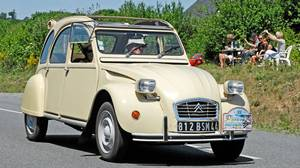 Citroen 2CV: The Citroën Deux Chevaux (commonly known as the 2CV) was built in France from 1948 until 1990.