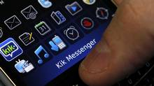 It's only the third acquisition made by Kik Interactive since the messaging company's founding in 2009. (Deborah Baic/The Globe and Mail)