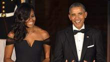Penguin Random House has acquired ublication rights to books to be written by Barack Obama and his wife Michelle Obama, a book that will be equally anticipated. (MIKE THEILER/REUTERS)