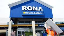 A Rona store. (Nathan Denette/THE CANADIAN PRESS)