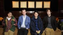 Vampire Weekend will be performing at the Squamish Valley Music Festival. (Kevin Van Paassen/The Globe and Mail)