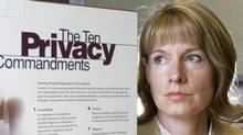 The B.C. government's policy for employee criminal record checks is in violation of provincial privacy rules and must be changed, says B.C.'s privacy commissioner Elizabeth Denham, who released a report on the matter Wednesday. Formerly, Ms. Denham was director of Alberta's Personal Information Privacy Act. (MIKE STURK/The Globe and Mail)