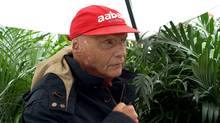 Three-time Formula One world champion Niki Lauda (Jeff Pappone for The Globe and Mail)